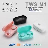 Headset Bluetooth Wirelles TWS M1 AIRDOTS 5.0 Samsung / Oppo / Vivo /