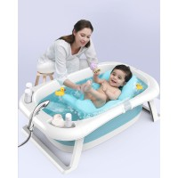 Bak Mandi Bayi Anak Lipat Foldable Baby Bathtub Anjing Kucing Kado 4