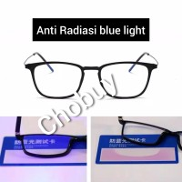 Kacamata blue ray Anti Radiasi HP gadget Komputer TV dll