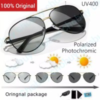 Original Kacamata Photocromic Polarized Sunglasses