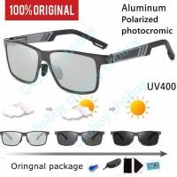Kacamata hitam Photocromic Polarized Sunglasses 6560