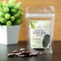 Organic Whole Roasted Cocoa Nibs - Super Food 50gr