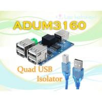 Quad USB Isolator USB Isolation Module Coupling Protection ADUM3160
