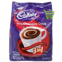 Cadbury Hot Chocolate Drink 3 in 1 450 Gr Minuman Cokelat Panas 3in1 I