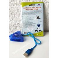 Converter Stick PS / Stik PS2 ke PS3 / PC Double K-One PU 302