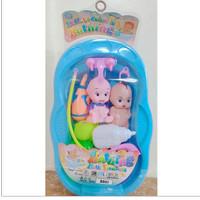 Mainan Bayi Baby Toys 2pcs BabyBathtub Jumbo Mainan BakMandi Bayi Lucu