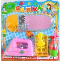 Mainan Anak Perabotan Rumah-Rumahan Mainan Alat Setrika Baju