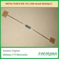 470R 470 Ohm Resistor Welwyn 0.5W 1% MFR4 Original P/N: MFR4-470RFI