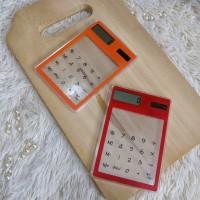 Calculator Transparent. kalkulator trasparan Cahaya