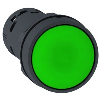 Schneider Push Button XB7NA31/XB7NA42 SPRING RTN, GREEN/RED -1NO