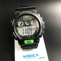 Jam tangan digital Sporty water Resist Visica 68