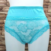 sale...abisin stok celana dalam wanita model transparan depan fit XL