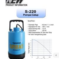 Pompa Air Celup Terada S-220