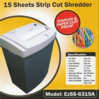Mesin Penghancur Kertas Paper Shredder Secure EzSS-6315A