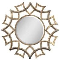 cermin hias dekoratif pajangan rumah estetika ruang tamu mewah
