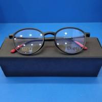 kacamata DIOR (2223-unisex)) Free lensa anti Radiasi