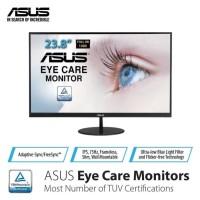 """ASUS VL249HE Eye Care Monitor 23.8"""" FHD, IPS, 75Hz, Frameless"""