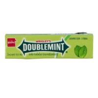 WRIGLEYS Doublemint Chewing Gum Candy - Permen Karet Mint 5 Strip
