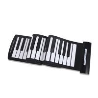 R&F Portable 61 Keys Flexible Roll-Up Piano USB MIDI Electronic
