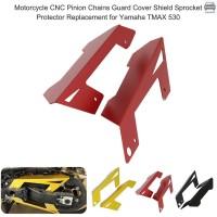 CNC Pelindung Rantai Sepeda Motor Bahan Aluminium Warna Hitam untuk