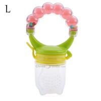 Babies Nipple Fresh Fruit Vegetable Nibbler Feeder Feeding Tool with