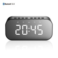 Speaker Bluetooth Robot RB550 Timer Alarm Clock Bluetooth with LED