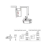 Switch Timer Delay Relay Din Rail Otomatis untuk koolac / DC 3