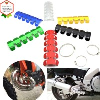 Motorcycle Exhaust Muffler Pipe Protector Heat Shield Cover For K
