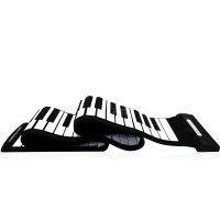 R&F USB 88 Keys MIDI Roll up Electronic Piano Keyboard Silicone
