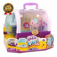 Little Live Pets Lil Fluffy Mouse House Play House Toy Kids Gift TG