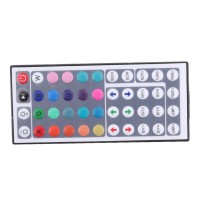 Kloware1 DC 12V 12A 144W RGB 44Key IR Remote Controller LED SMD 5050