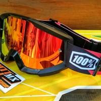 Goggle Kacamata Trail Motocross 100 percent Strata Slash last sto