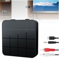 #Bluetooth 5.0 2-in-1 Audio Transmitter Receiver TV Computer Speaker
