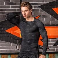 Kaos T-Shirt Compression Pria untuk Gym / Fitness / Bodybuilding