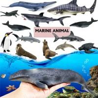 12pcs Simulation Animal Toy Model Ocean World Dinosaur Mini For Ch TG