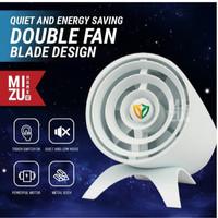 SCRAMJET Double Blade Desk Turbo Fan Kipas Ganda Turbo Portable USB