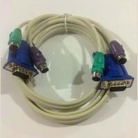 KABEL KVM PS2 VGA 3M (MALE - MALE)