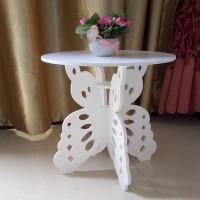 Meja Ngopi Kupu-kupu Serba guna Multi Rak Coffee Table Rak