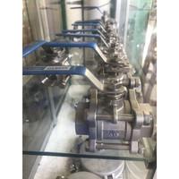 "kran air ball valve sankyo 3pc stainless steel 1"" (inch) kon:drat/SW"