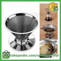 OneTwoCups Filter Penyaring Kopi Double Layer Cone Coffee Filter
