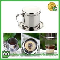MOJOYCE Filter Saring Kopi Vietnamese Coffee Drip Pot Stainless Steel