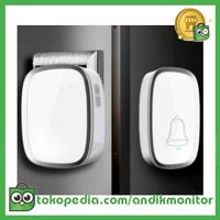 Taffware Bel Pintu Wireless Doorbells Waterproof 36 Nada 1 PCS