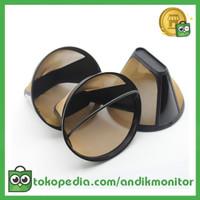 Saringan Kopi Filter Cone Shaped Coffee Dripper 1 Pcs - K741 - Black