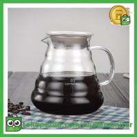 OneTwoCups Coffee Maker Pot V60 Drip Kettle Teko Kopi Barista 800ml -