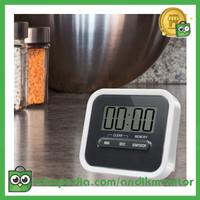 Aihogard Timer Mini Digital Dapur Countdown Timer - II5 - Black