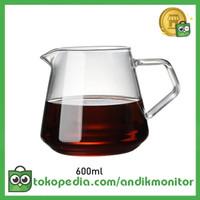 OneTwoCups Coffee Maker Pot Kettle Teko Kopi Barista 600ml - AI101