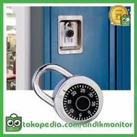CJSJ Gembok Brankas Rotary Padlock Digit Combination Padlock - CH-209