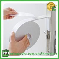 ZHEN Lis Strip Pintu Door Noise Insulation Rubber Dusting Sealing