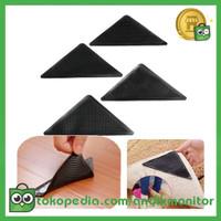 RUGGIES Grip Anti Slip untuk Karpet 4 PCS - CWC553 - Black