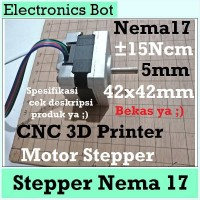 [EBS] Nema 17 Mikro Stepper Motor 42 mm 31mm CNC 3D Printer Axis 15Ncm